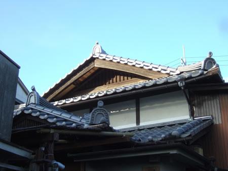 大徳寺 瓦葺き替え工事